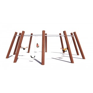 Rustik 5 Way Swing - Large