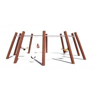 Rustik 5 Way Swing - Large