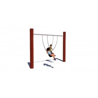 Rustik Single Bay Swing