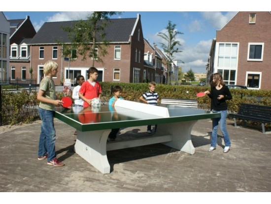 Concrete Table Tennis Tables and Fussball Tables