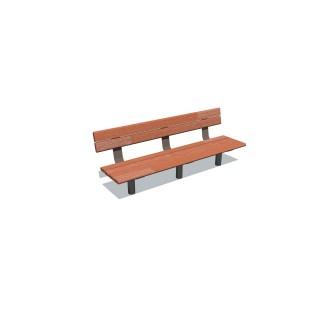 1.8m Cedar Bench Seat
