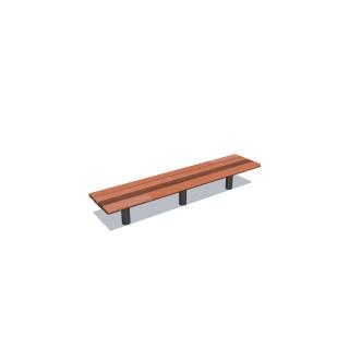 1.8m Cedar-Mink Bench