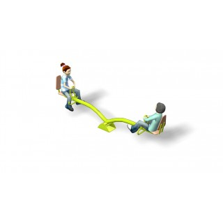 2 Seat Seesaw with Backs