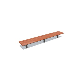 2.4m Cedar Bench