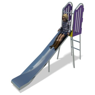 City 1.15m Free Standing Slide