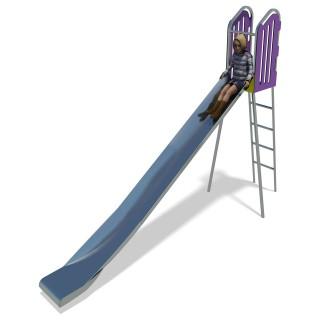 City 1.85m Free Standing Slide