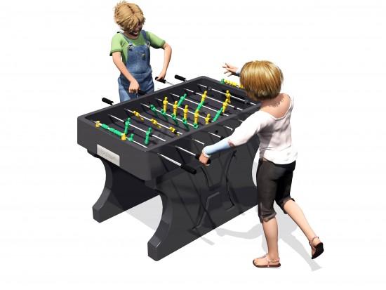 Concrete Soccer (Football) Table