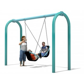 Friendship Swing with 5 Arch Swing Frame - LS457