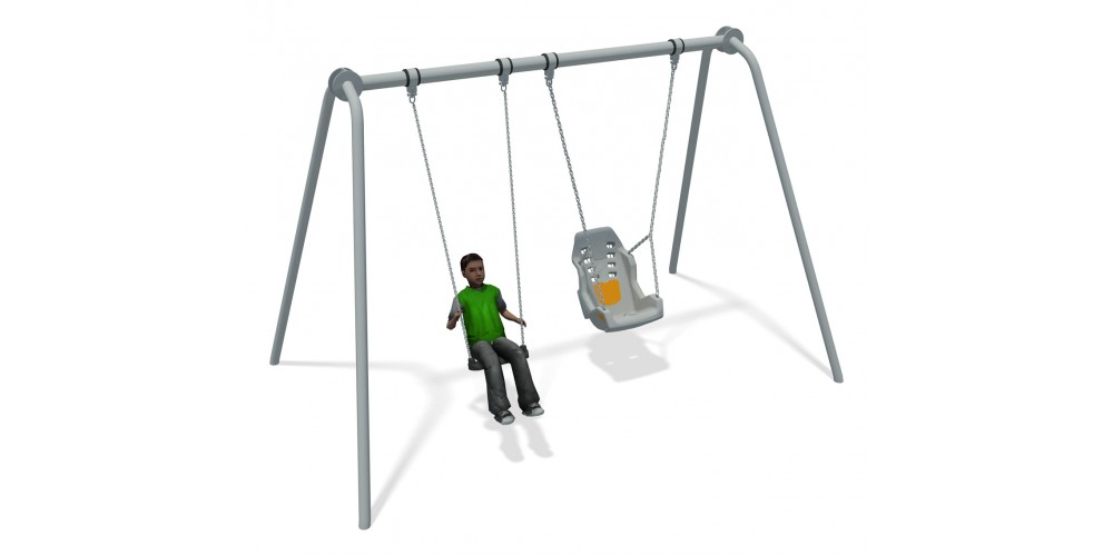 Junior Swing Stainless Steel (1 Flat 1 Inclusive )
