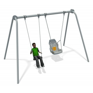 Junior Swing Stainless Steel (1 Flat 1 Inclusive )