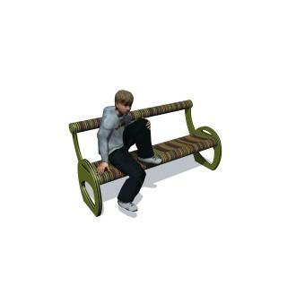 Kaleidoscope Bench Seat