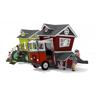 Smart Play Loft & Fire Station