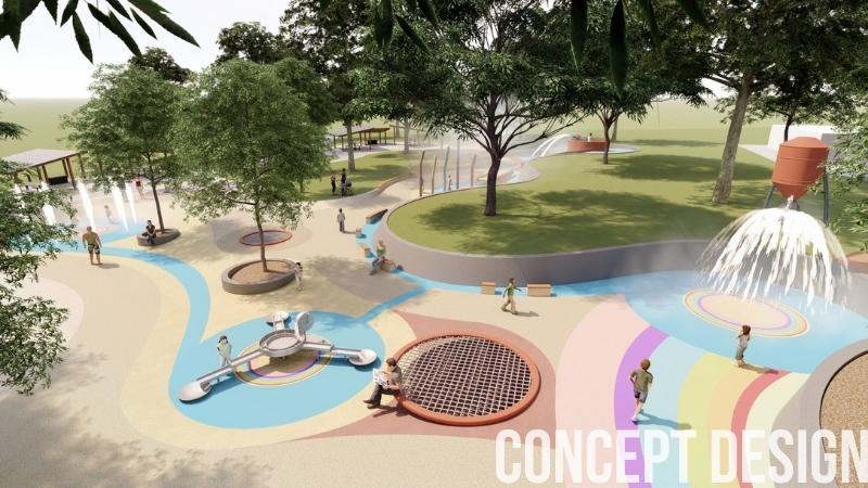 Anzac park Maryborough Concept Design