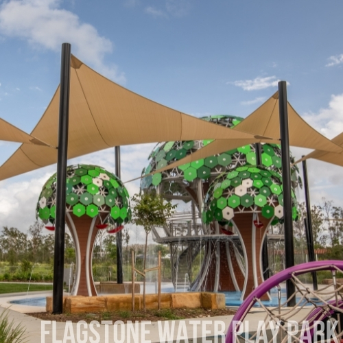 Flagstone Water Play Park