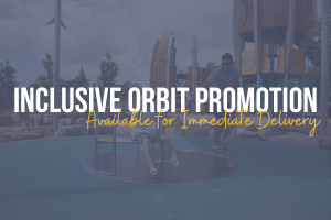 Inclusive Orbit - On special and available for immediate delivery