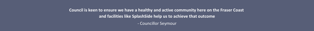 SplashSide Quote from Councillor Seymour
