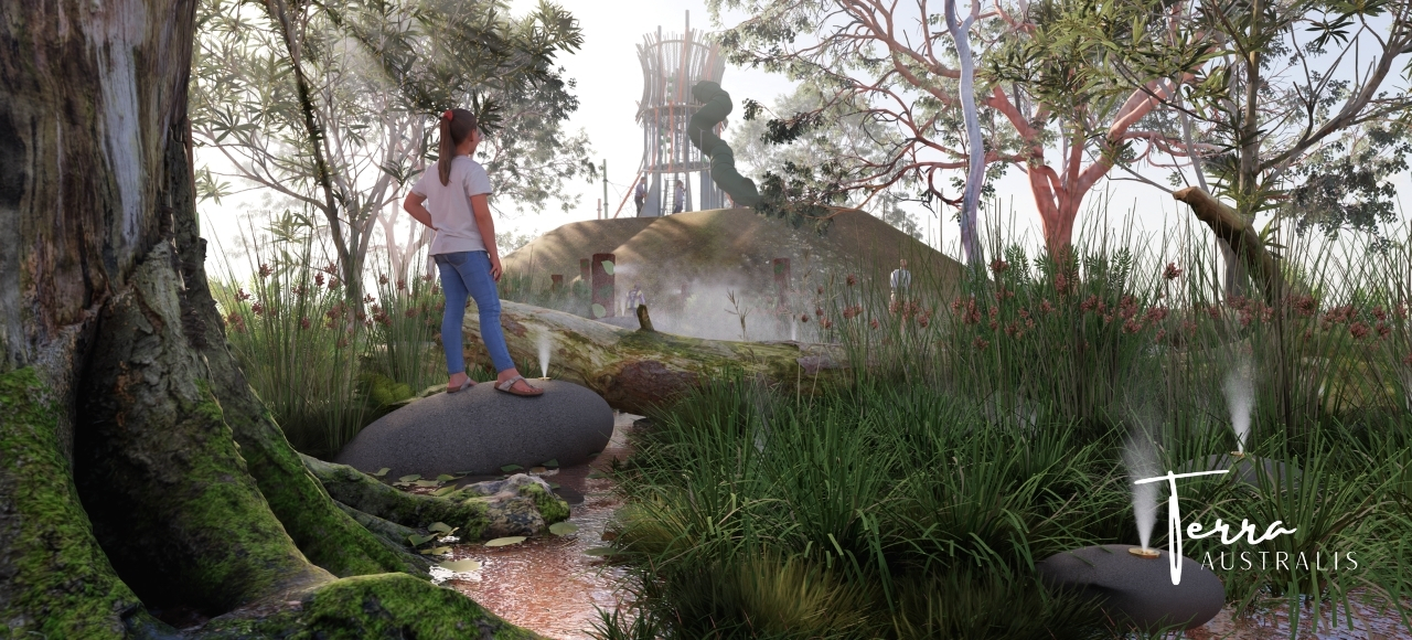 Terra Australis by Playscape Creations