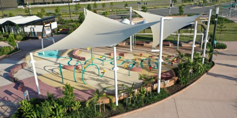 The Mill Aquatic Play at Petrie Overview